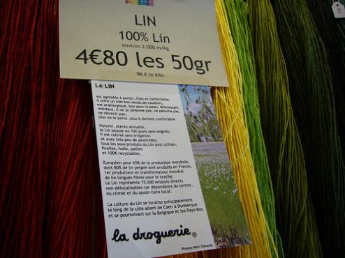 Linen at La Droguerie